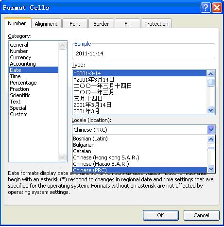 Work with Localization Formatting