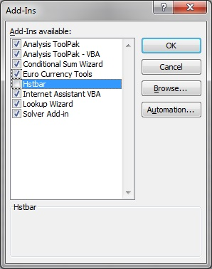 Enabling and Disabling Smart View and Other Office Add-ins
