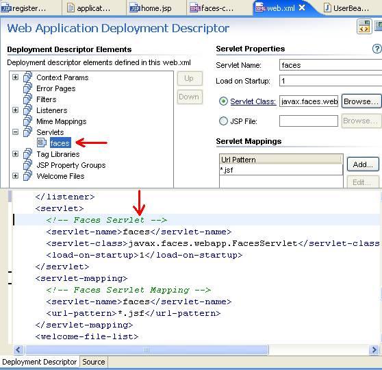 JSF Tutorial: 5  Running the Application