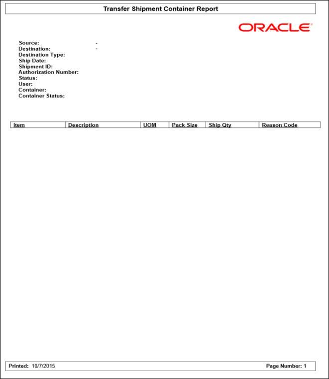 the best attitude 001f4 c0916 Figure  Transfer Shipment Container Report