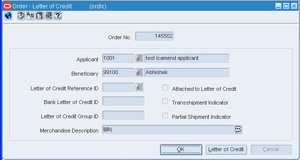 Work With Letters Of Credit