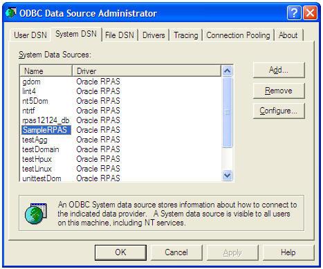 oracle 11g odbc driver windows 10
