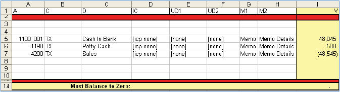 trial balance spreadsheet template