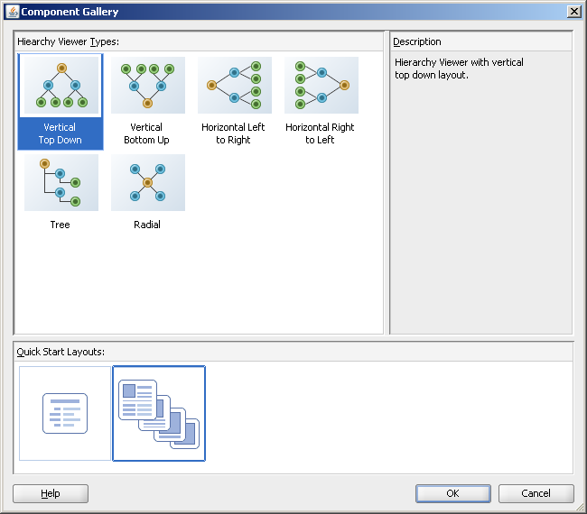 Using ADF Hierarchy Viewer Components