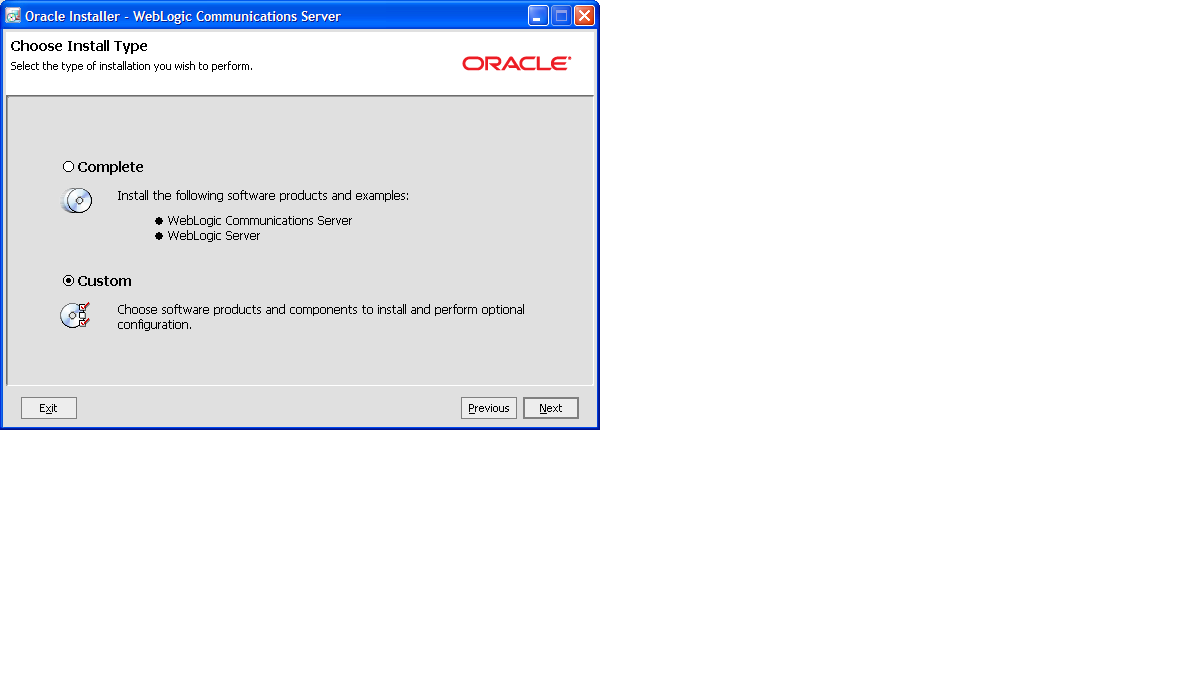 Oracle Communications Converged Application Server Quick