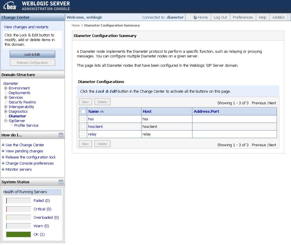 weblogic is application server or web server