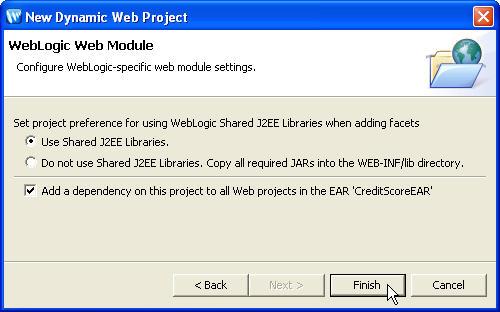 Customizing Project Dependencies
