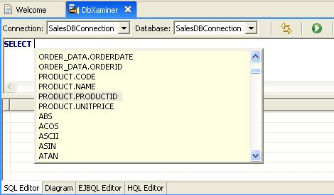 Working with Databases: Step 4: Create SQL Statements
