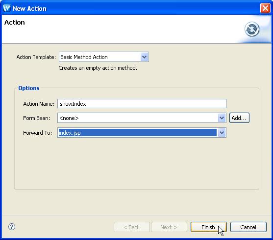 JSF Tutorial: Step 2: Create a JSF Web Application