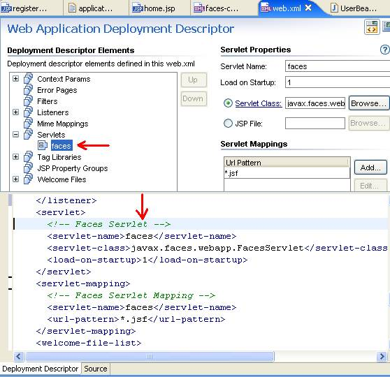 Workshop for JSF Tutorial: Running the Application
