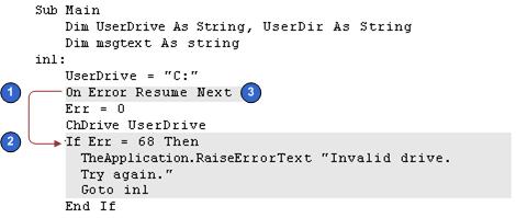 bookshelf v8 1 8 2 handling errors that siebel vb returns