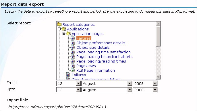 Working With Reports