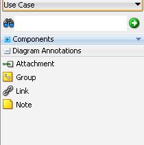 Creating using and managing diagrams diagram annotation elements in the component palette ccuart Images