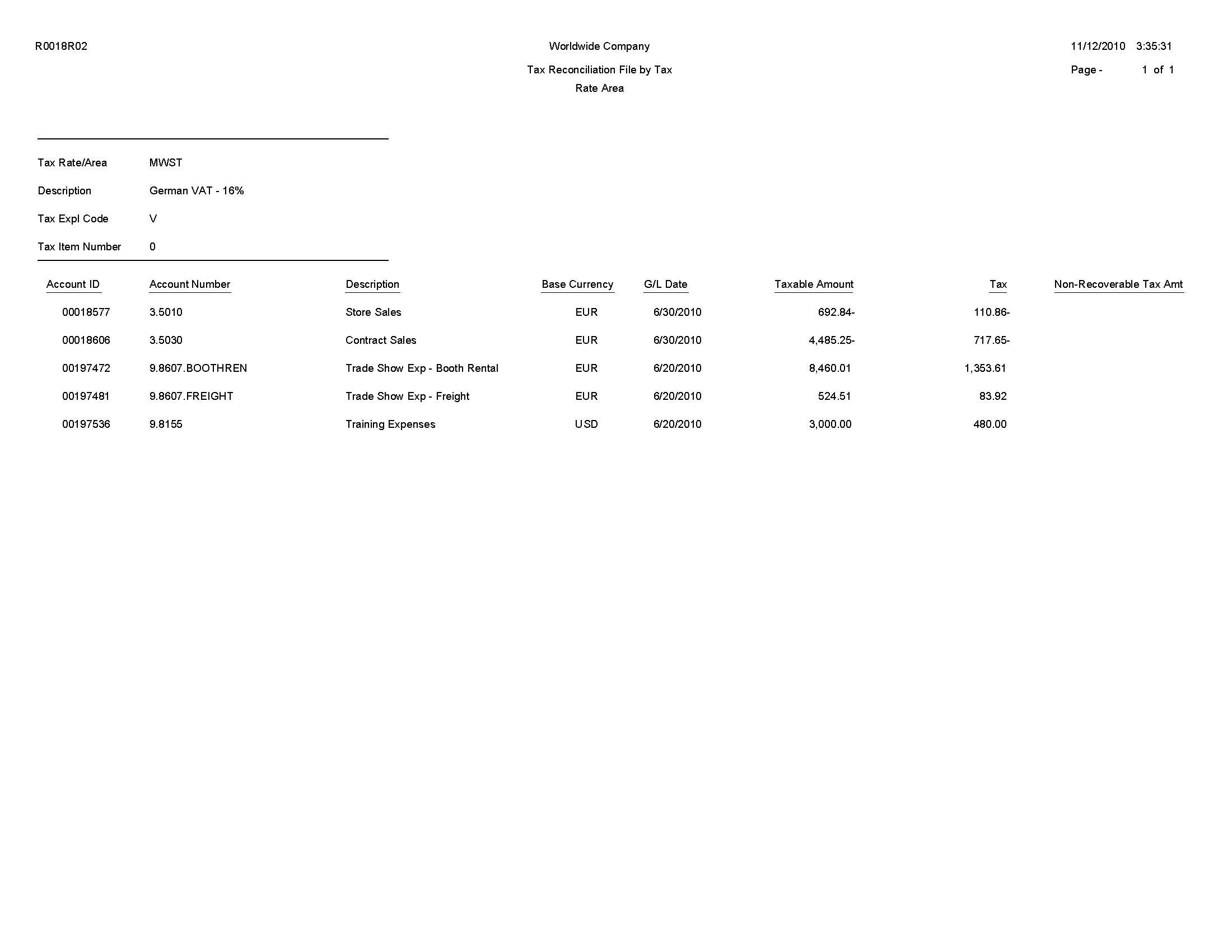 tax invoice template doc