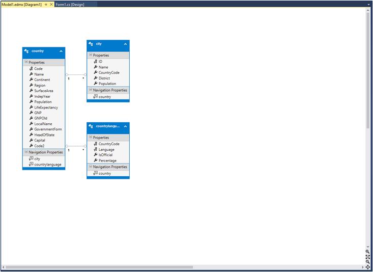 4 6 Tutorial: Using an Entity Framework Entity as a Windows