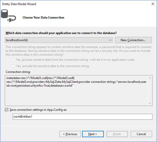4 6 Tutorial: Using an Entity Framework Entity as a Windows Forms