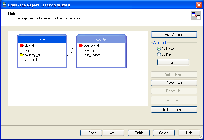 crystal reports join tables