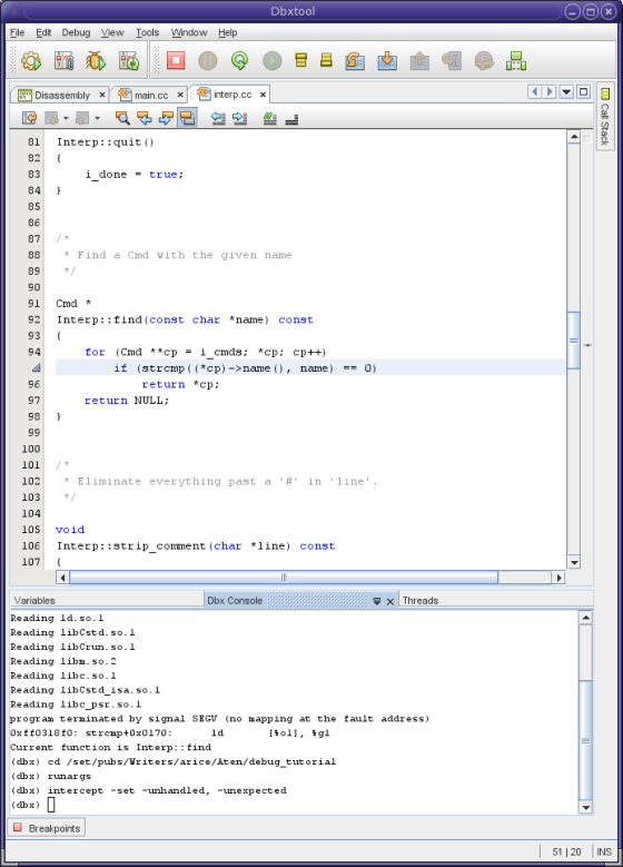Writing an operating system using c++ strcmp