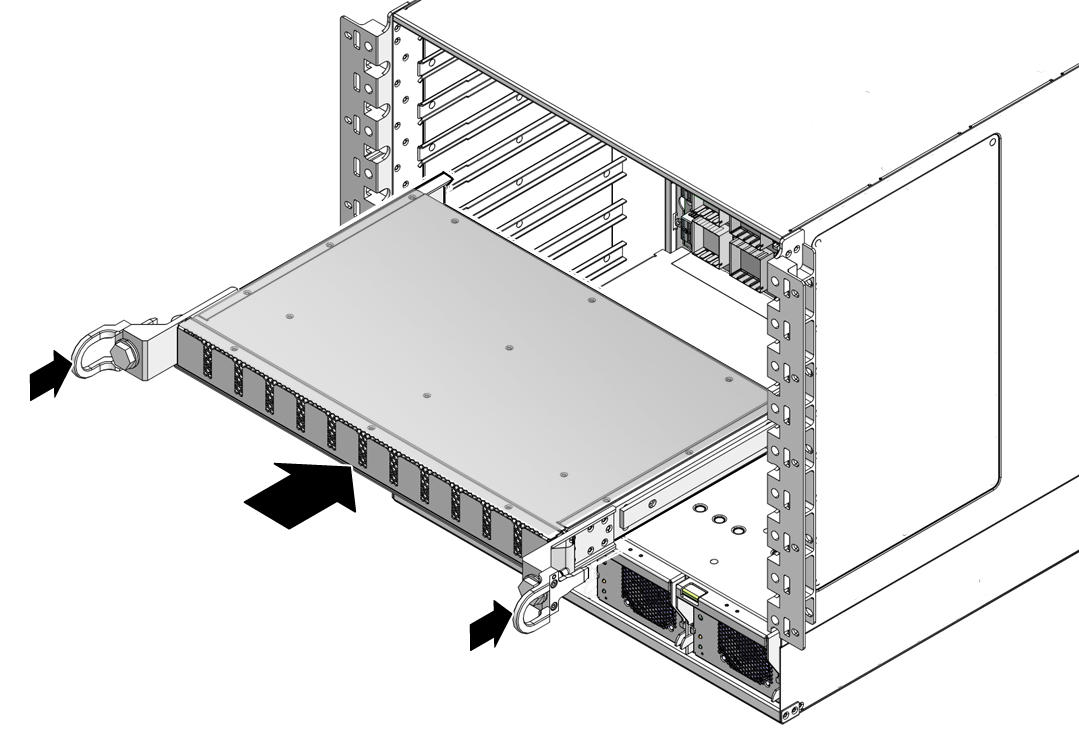 Install the Midplane Stiffener - Sun Datacenter InfiniBand Switch ...