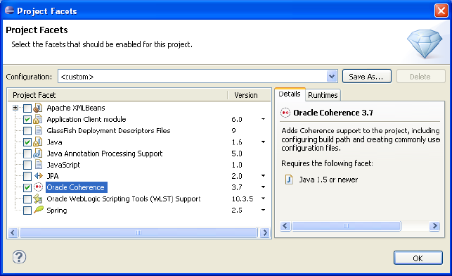 Installing and Configuring Eclipse and OEPE with Coherence