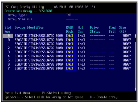 Configuring LSI RAID for Any Operating System from the BIOS