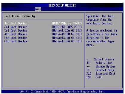 how to change drive priority from boot menu