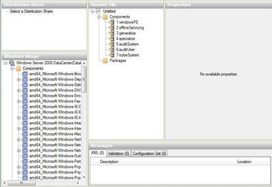 Create an ImageUnattend xml Setup Script – Windows Server