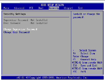 Configuring BIOS Settings