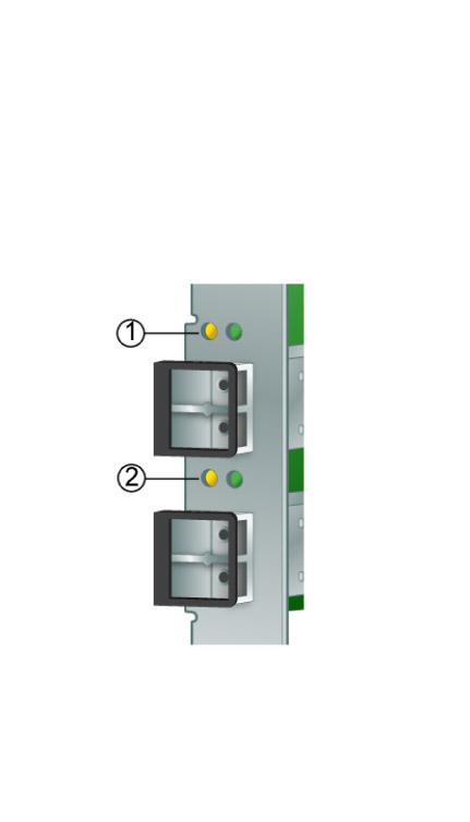 LED) Status - StorageTek 8 Gb FC PCI-Express HBA, Emulex