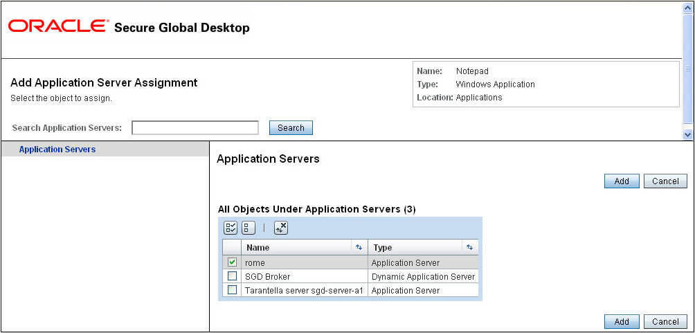 how to add application to semtech server