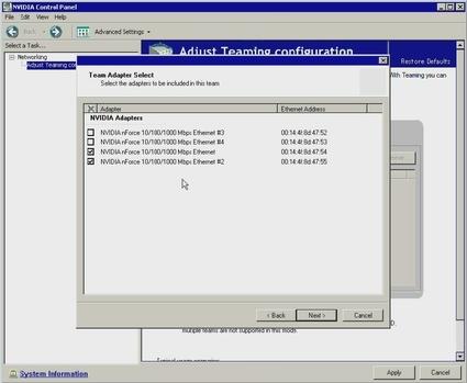 NIC Teaming for Windows