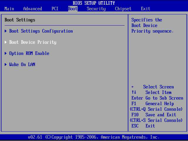 how to set up my bios