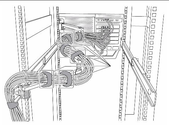 installing the sparc enterprise m4000 server in a rack