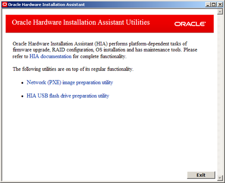 How to Create the Oracle Hardware Installation Assistant PXE