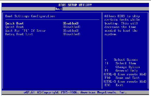 how to open boot menu
