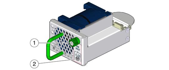 Identify the Fan - Sun Network QDR InfiniBand Gateway Switch