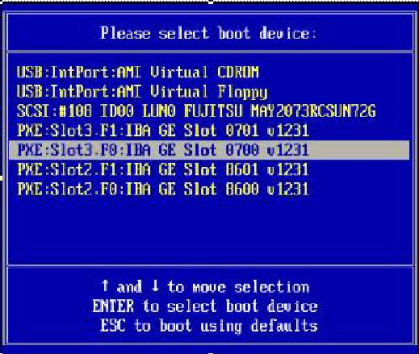 How to Install Windows Server 2008 Using PXE Network - Sun Fire