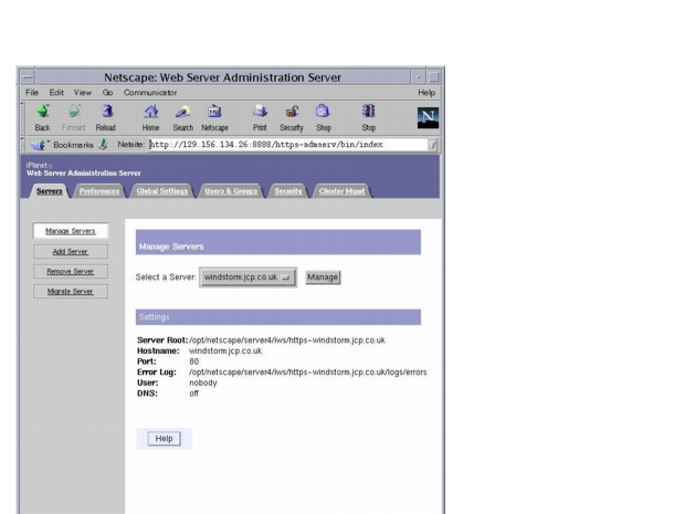 An oracle white paper march using oracle iplanet web server as a.