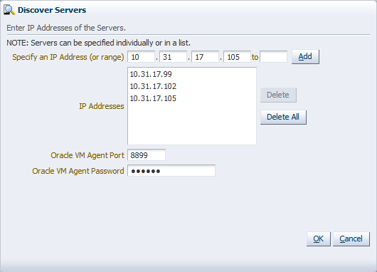 Managing Server Pools