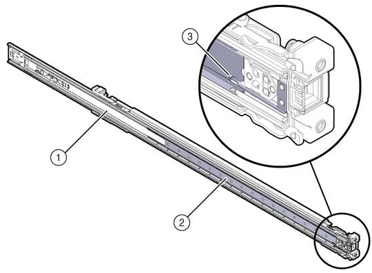 Attach Tool Less Slide Rail Assemblies