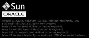 Install VMware ESXi Using Local or Remote Media - Sun Server