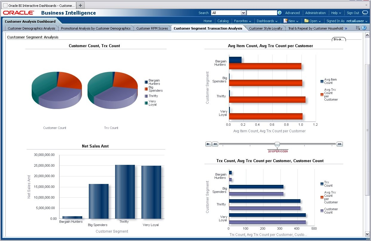 Predefined Retail Analytics Reports Rptcustsegtran Analysis Packaged Reportshtm