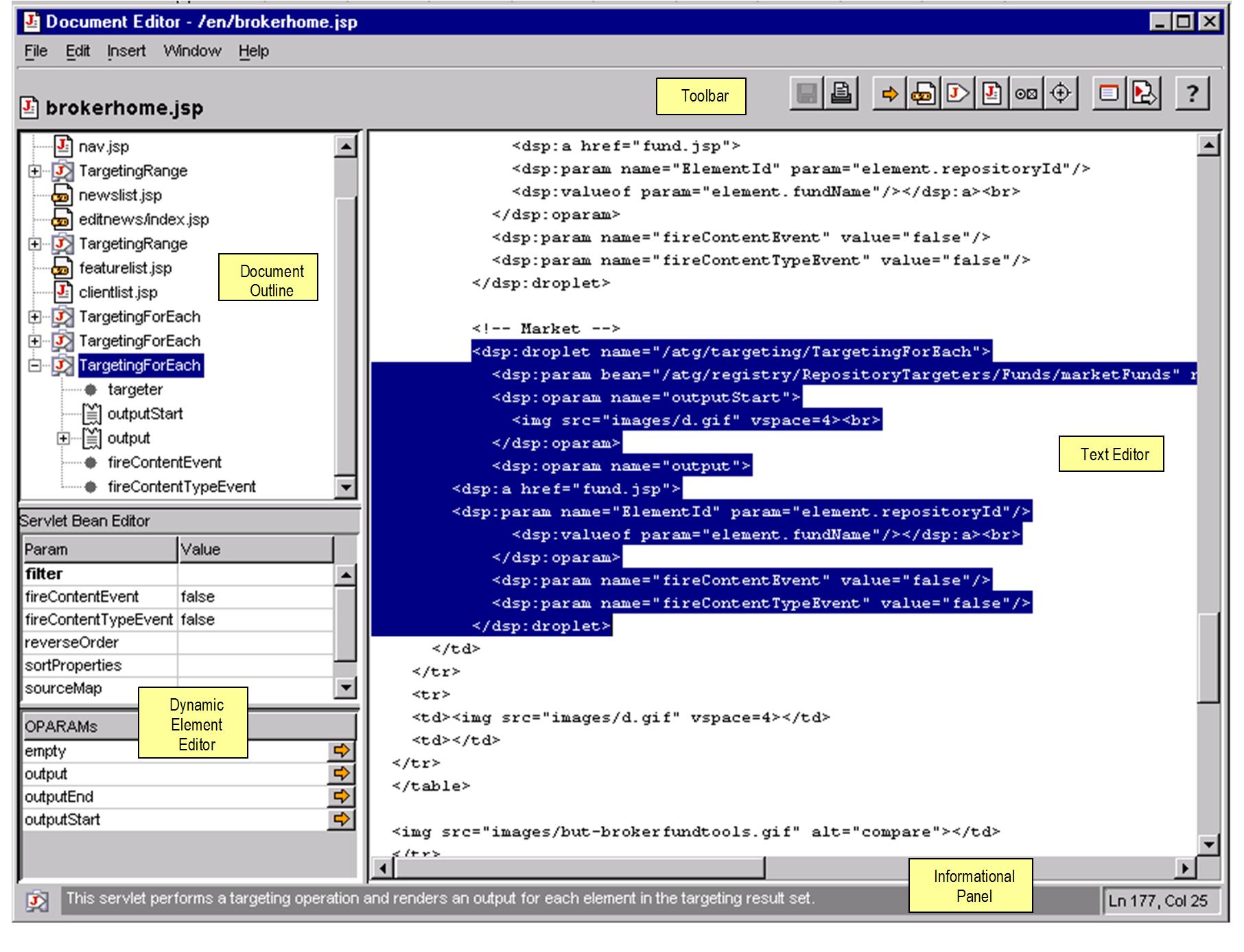 Document Editor Window