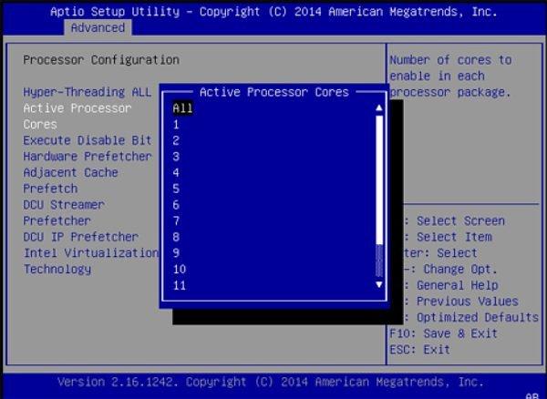 Configure Elastic Computing (BIOS Setup Utility) - Oracle