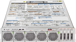 Rear Panel System LED and Button - SPARC T4-1 Server HTML Document ...