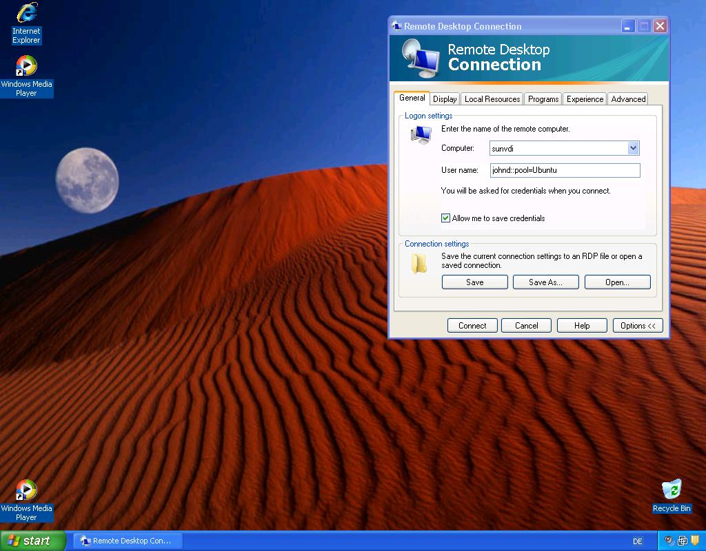 Remote desktop connection broker logging