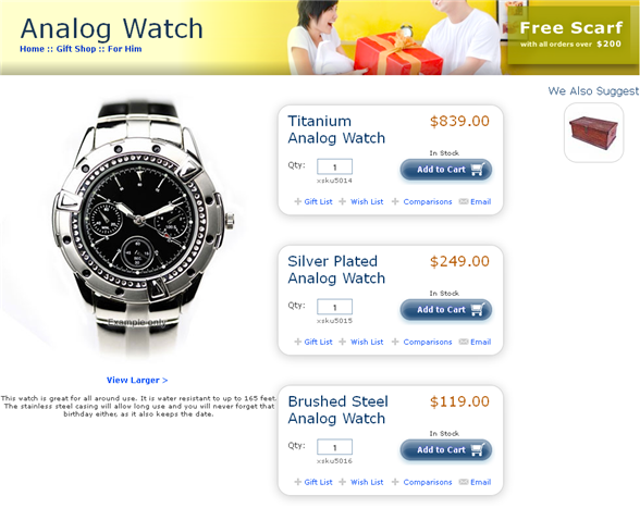 Oracle ATG Web Commerce - Template Pages