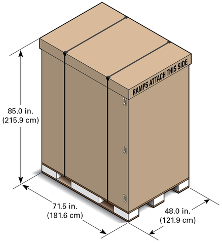 shipping container dimensions sparc m5 32 and m6 32 servers html collection. Black Bedroom Furniture Sets. Home Design Ideas