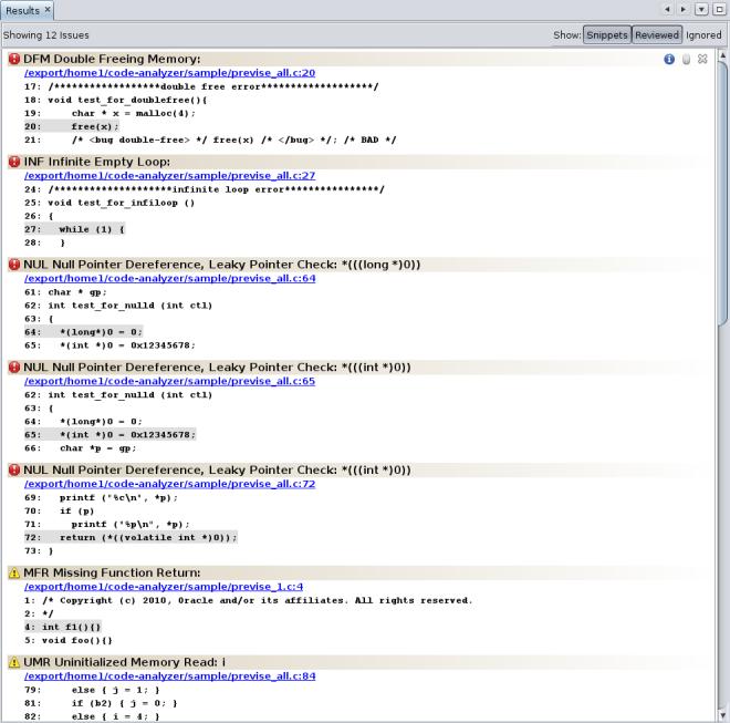 Oracle® Solaris Studio 12 3 Code Analyzer Tutorial - Oracle