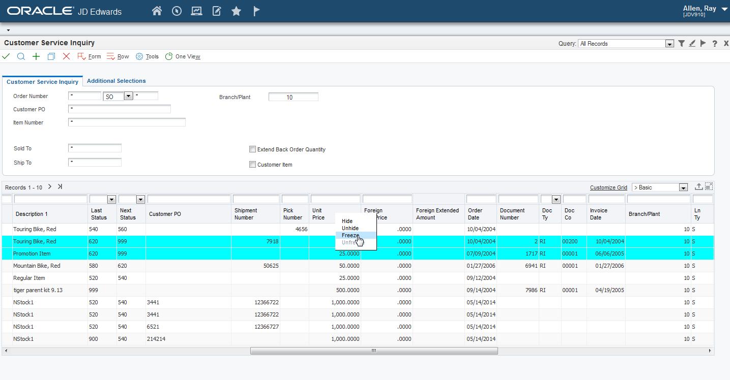 Using the jd edwards enterpriseone web application user interface description of figure 3 16 follows baditri Image collections